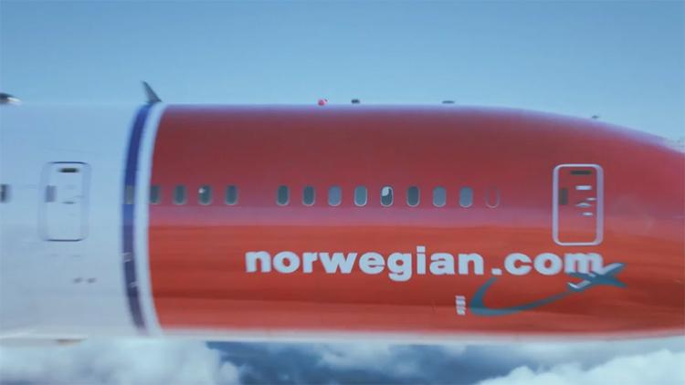 Norwegian Airlines Commercial